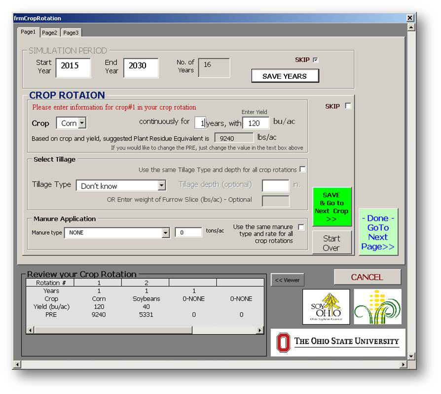 Osu soil organic matter calculator south centers for Soil removal calculator