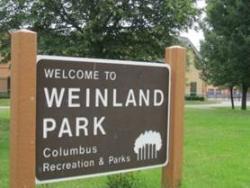 Weinland Park sign