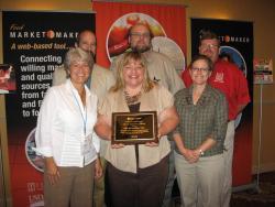 Direct Marketing Team Members Receiving Award