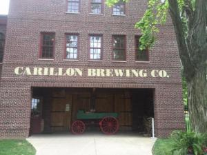 Carillon Brewing Co. front of building